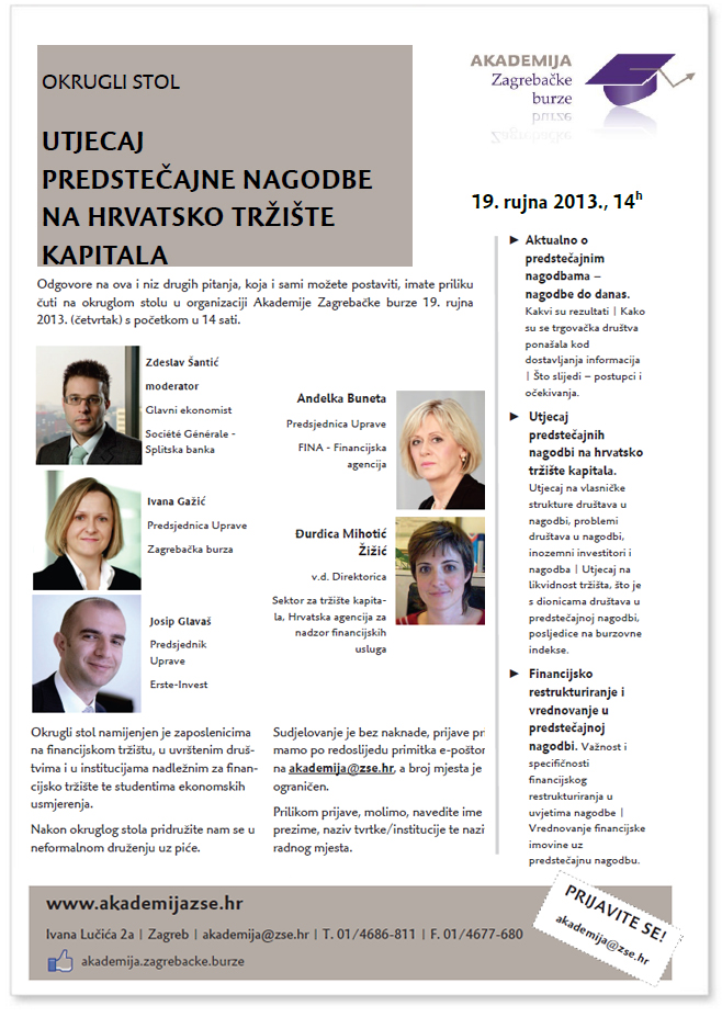 Hrvatsko tržište kapitala u 2013